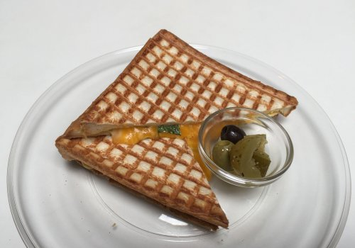 The World's Best Grilled Cheese at Toasteria Cafe