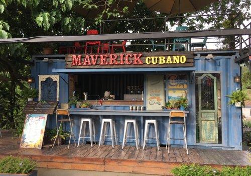 Maverick's Smoked Chicken Cubano in a Cargo Box