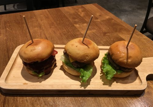 Marcus Cafe is Home of the Mini-Burger